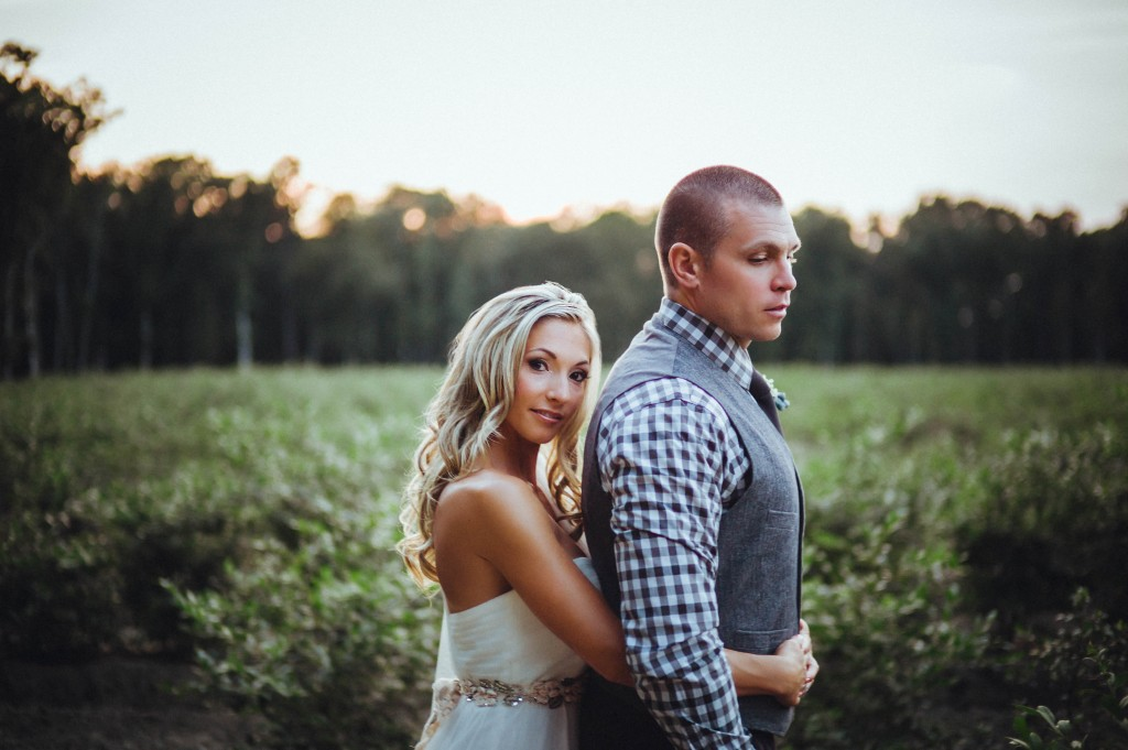 Farm Wedding Venue Location in New Jersey at DiMeo's Blueberry Farm