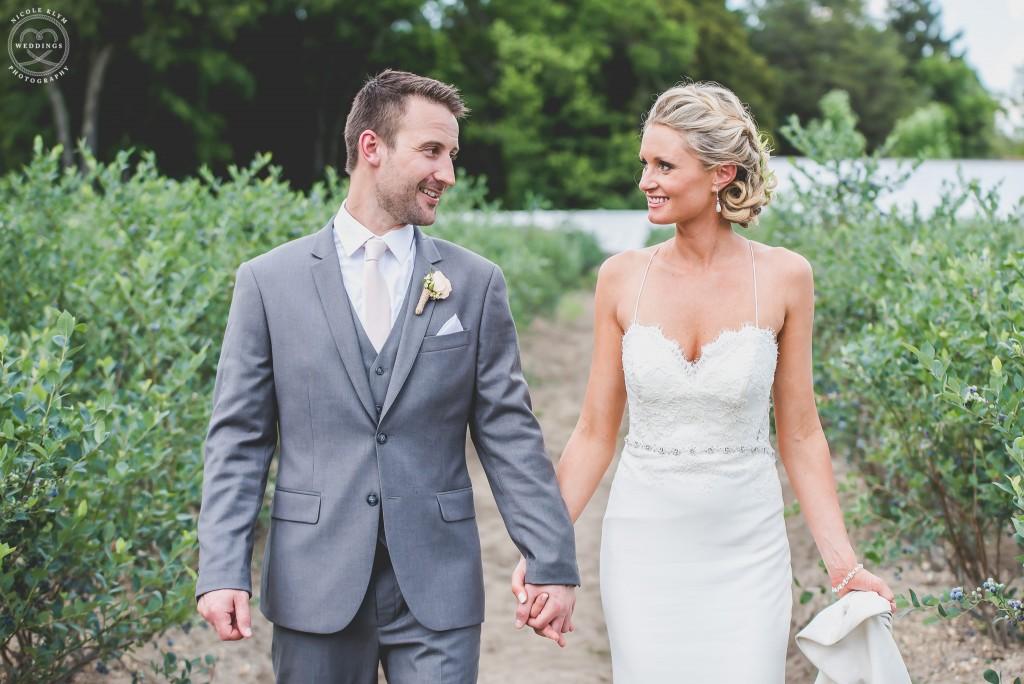 New Jersey Farm Weddings at DiMeo Farms